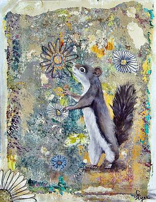Wall Art - Painting - Sniffers by Carol Iyer