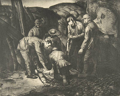 Relief - Sniped From War Series by George Bellows