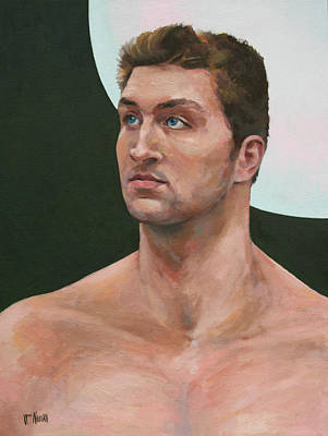 Tim Tebow Painting - Snips And Snails by William Noonan