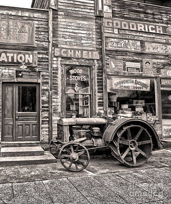 Snohomish Antiques Art Print by Sonya Lang