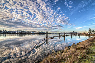 Photograph - Snohomish River Bliss by Spencer McDonald