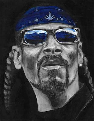 Painting - Snoop by Charles  Bickel