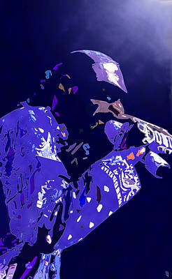 Rapper Digital Art - Snoop Doggy Dogg by  Fli Art