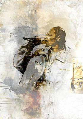 Urban Painting - Snoop Graffitti 13 by Jani Heinonen