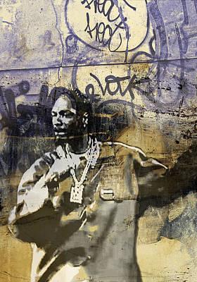 Snoop Graffitti  24756 Art Print by Jani Heinonen