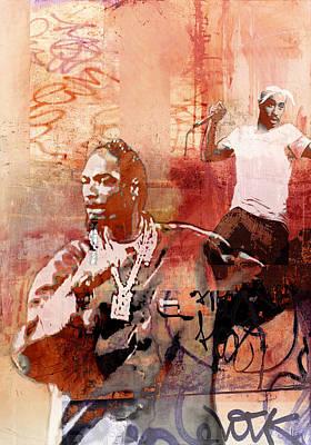 Snoop Graffitti  5045 Art Print