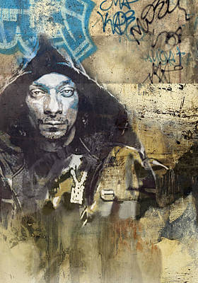 Singer Painting - Snoop Graffitti  57 by Jani Heinonen