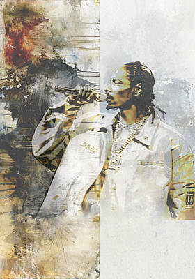Beautiful Painting - Snoop Graffitti 9 by Jani Heinonen