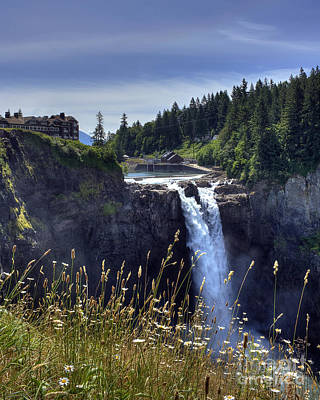 Photograph - Snoqualmie Falls by Chris Anderson