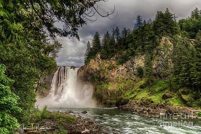Photograph - Snoqualmie Falls by John Roberts