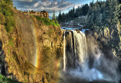 Photograph - Snoqualmie Falls, Washington by Greg Sigrist