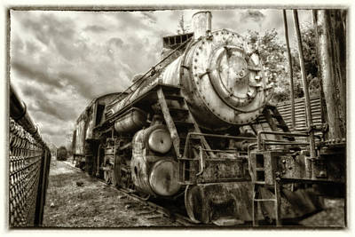 Photograph - Snoqualmie Locomotive by Matthew Ahola