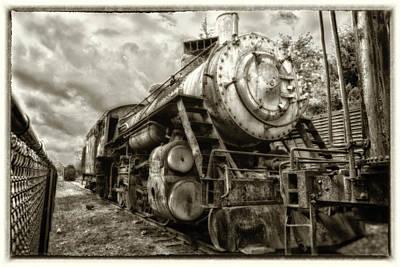 Photograph - Snoqualmie Locomotive by Matthew Ahola