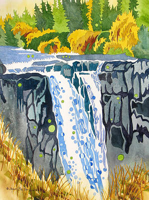 Painting - Snoqualmie September by Sherri Bails