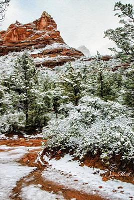 Photograph - Snow 05-017 by Scott McAllister