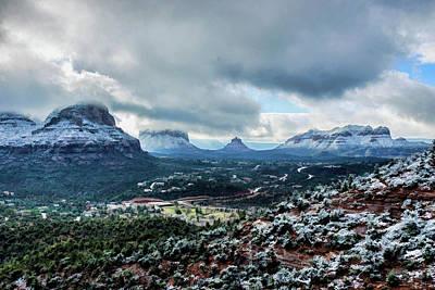Photograph - Snow 05-040 by Scott McAllister