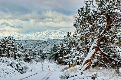 Photograph - Snow 06-005 by Scott McAllister