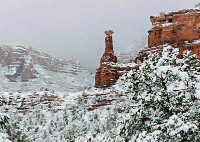 Photograph - Snow 06-027 by Scott McAllister