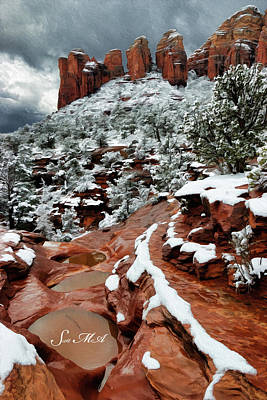 Photograph - Snow 06-068 by Scott McAllister