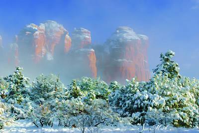 Photograph - Snow 07-089 by Scott McAllister