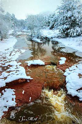 Photograph - Snow 09-021 by Scott McAllister