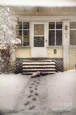 Photograph - Snow 203 Door by Craig J Satterlee