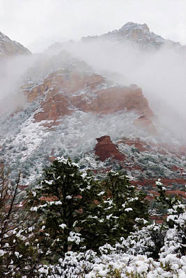 Photograph - Snow 4 06-072 by Scott McAllister