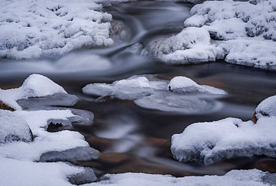 Photograph - Snow And Ice by Cat Connor