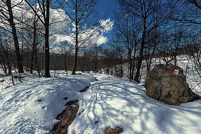 Photograph - Snow At Faiallo Pass - Nevicata Al Passo Del Faiallo Sull'alta Via Dei Monti Liguri by Enrico Pelos