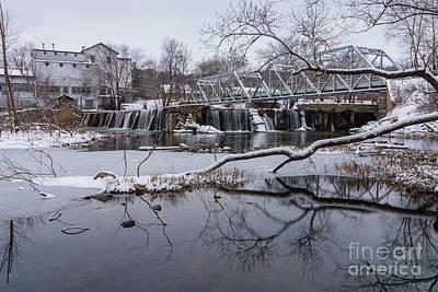 Photograph - Snow At Finley Dam by Jennifer White