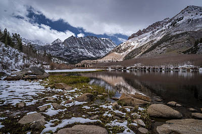 Photograph - Snow At North Lake by Cat Connor