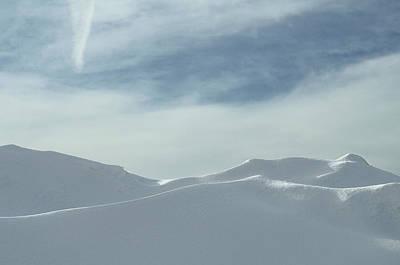 Snow Banks Photograph - Snow Bank by Rick Mosher