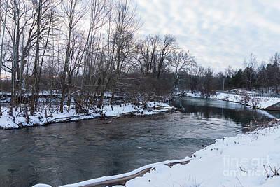 Photograph - Snow Beauty James River by Jennifer White