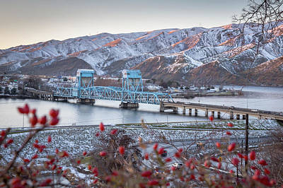 Photograph - Snow Berry Bridge by Brad Stinson