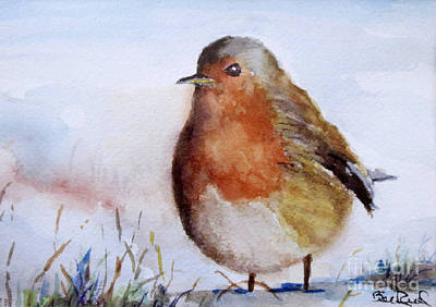 Painting - Snow Bird by William Reed