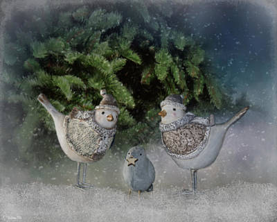 Photograph - Snow Birds by Teresa Wilson
