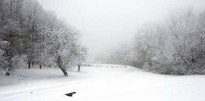 Snow Bound 2014 Art Print
