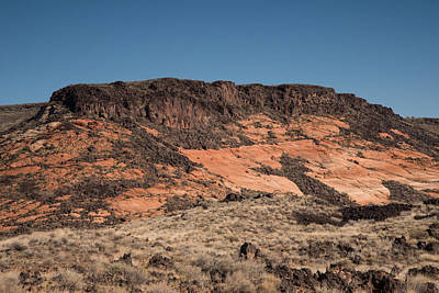 Photograph - Snow Canyon, Ut  Lava Tubes by Michael Gooch