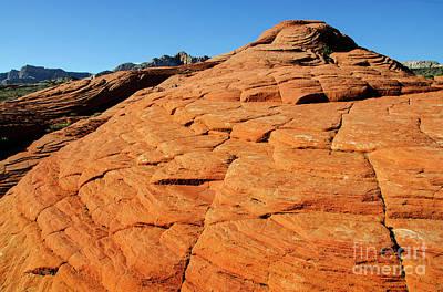Photograph - Snow Canyon Utah by Bob Christopher