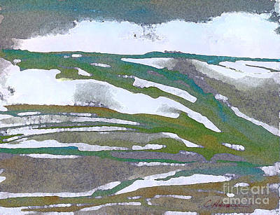 Snow Capped Dreams 2015 Original by Cathy Peterson