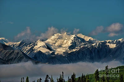 Photograph - Snow Capped Mountain Alaska by David Arment