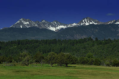 Photograph - Snow Capped Mountains 2 by Renee Hardison