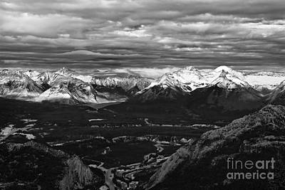 Photograph - Snow Capped Peaks by Linda Bianic
