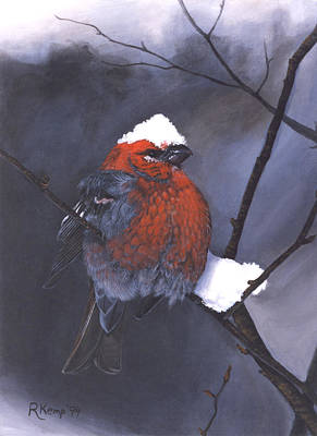 Painting - Snow Chapeau by Rebeca Gallant