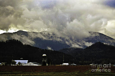 Photograph - Snow Clouds Farm by Clayton Bruster