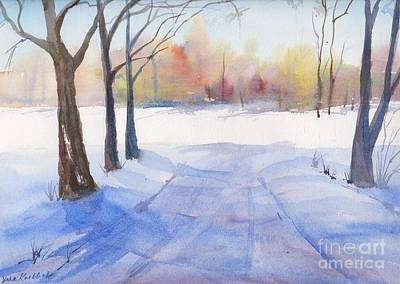 Painting - Snow Country by Yohana Knobloch