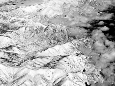 Photograph - Snow Covered by Deborah  Crew-Johnson