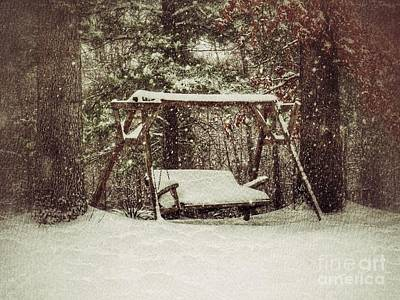 Olympic Sports - Snow Covered Swing by John Myers