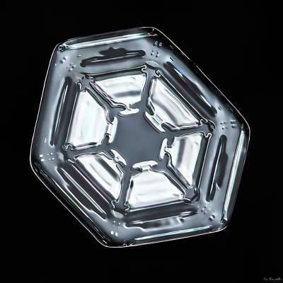Photograph - Snow Crystal by Sheila Mcdonald