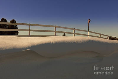 Photograph - Snow Curl by Roger Monahan